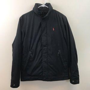 POLO Ralph Lauren Men Black Fleece Lined Jacket